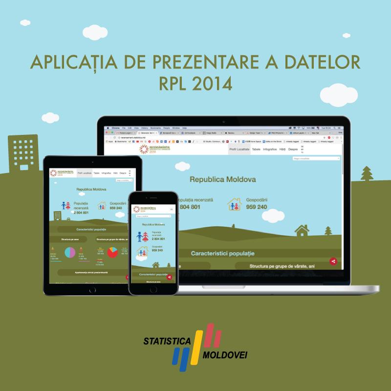Aplicatia Recensamantul Populatiei si al Locuintelor 2014